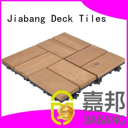 JIABANG wood deck tiles rooftops for wholesale