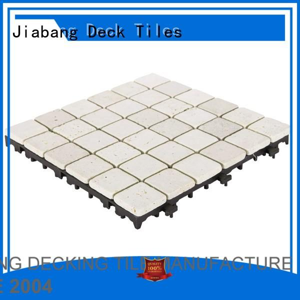 special Custom outdoor travertine deck tiles diy JIABANG