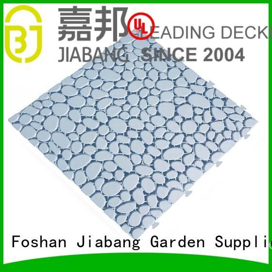 hot-sale plastic wood tiles non-slip for wholesale