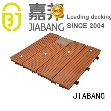 JIABANG eco-friendly patio deck tiles protective ground