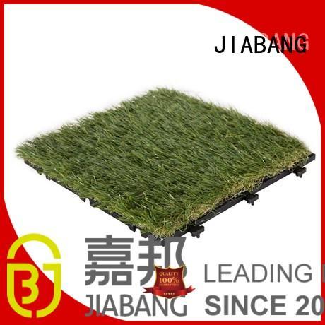 Quality JIABANG Brand outdoor grass tiles artificial tiles