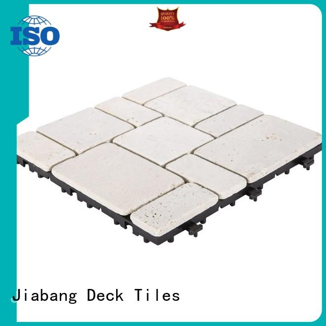 JIABANG natural french pattern travertine pool deck high-quality for playground