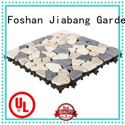 JIABANG natural travertine deck tiles wholesale for garden decoration