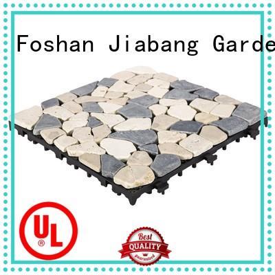 JIABANG natural travertine deck tiles wholesale for garden decoration