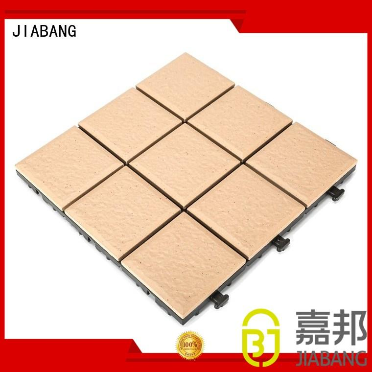 1.0cm ceramic exhibition floor deck tiles JB5013