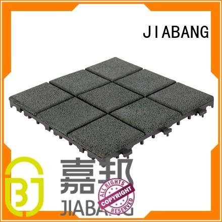 JIABANG professional gym floor tiles interlocking composite at discount