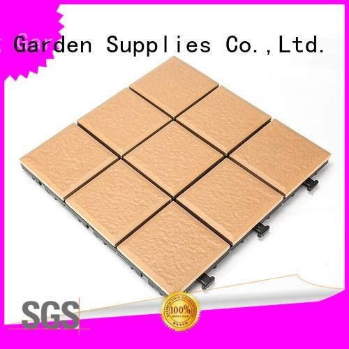 OEM porcelain patio tiles flooring custom size at discount