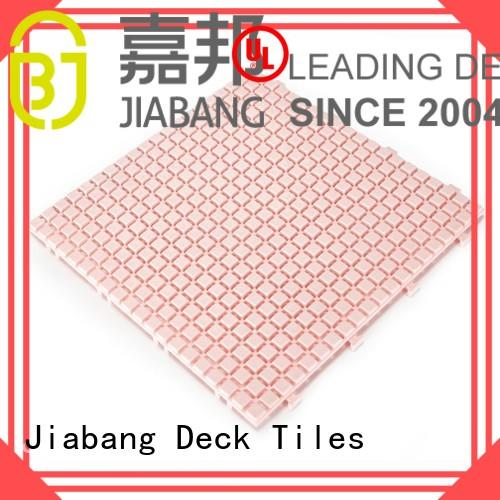 plastic sand non slip bathroom tiles deck JIABANG Brand company