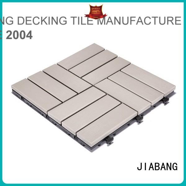JIABANG Brand sun tile pvc deck tiles pvc supplier