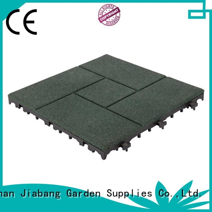 JIABANG hot-sale rubber gym flooring tiles light weight at discount