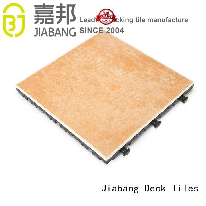 frost resistant non slip decking tiles top seller for hotel JIABANG