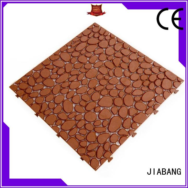 JIABANG plastic mat plastic wood tiles for wholesale