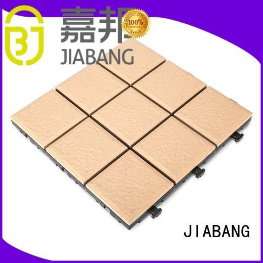 JIABANG OEM porcelain deck tiles gazebo construction