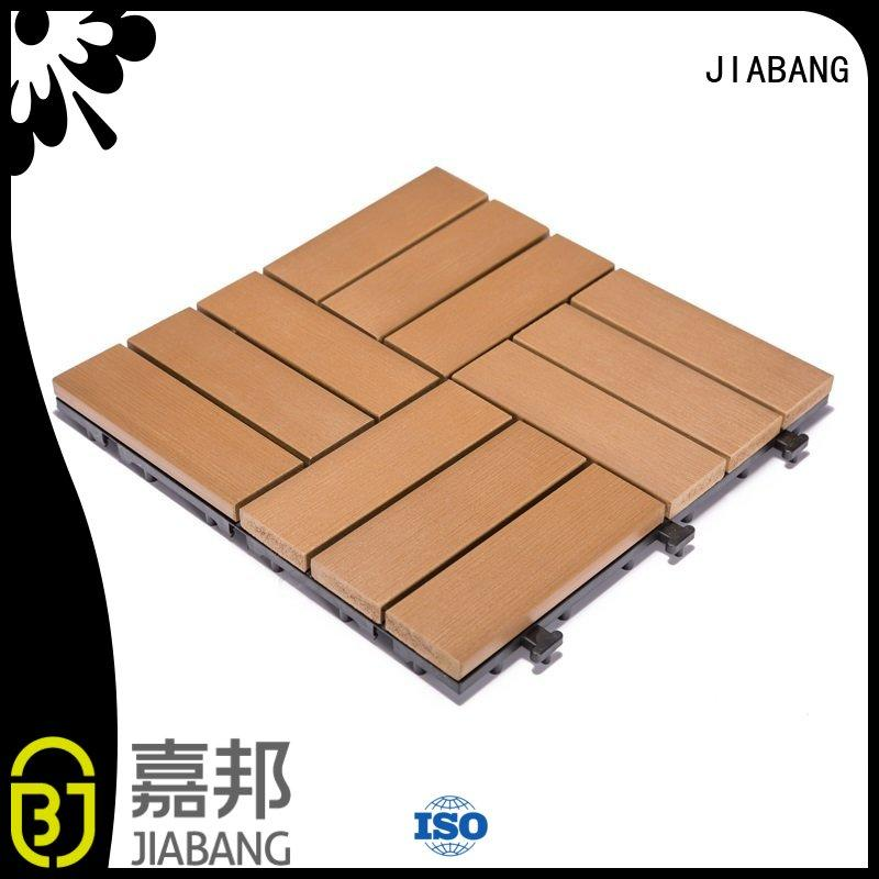 decking floor pvc deck tiles JIABANG Brand