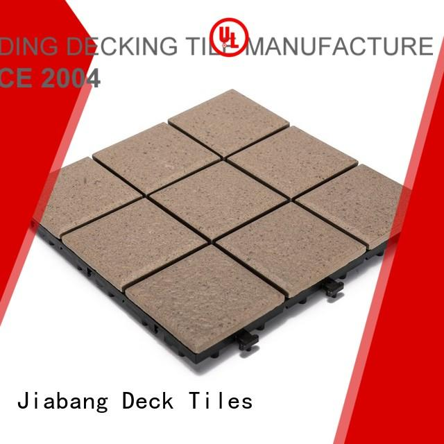 JIABANG Brand outside ceramic jj01 custom ceramic garden tiles