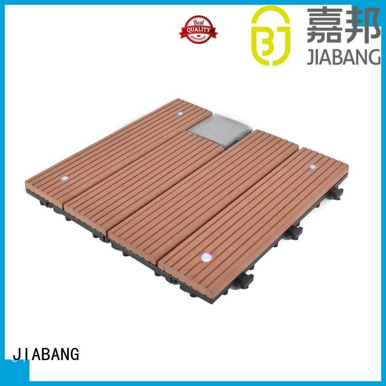 JIABANG led balcony deck tiles protective home