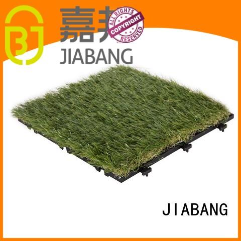 JIABANG chic design artificial grass tiles hot-sale for wholesale