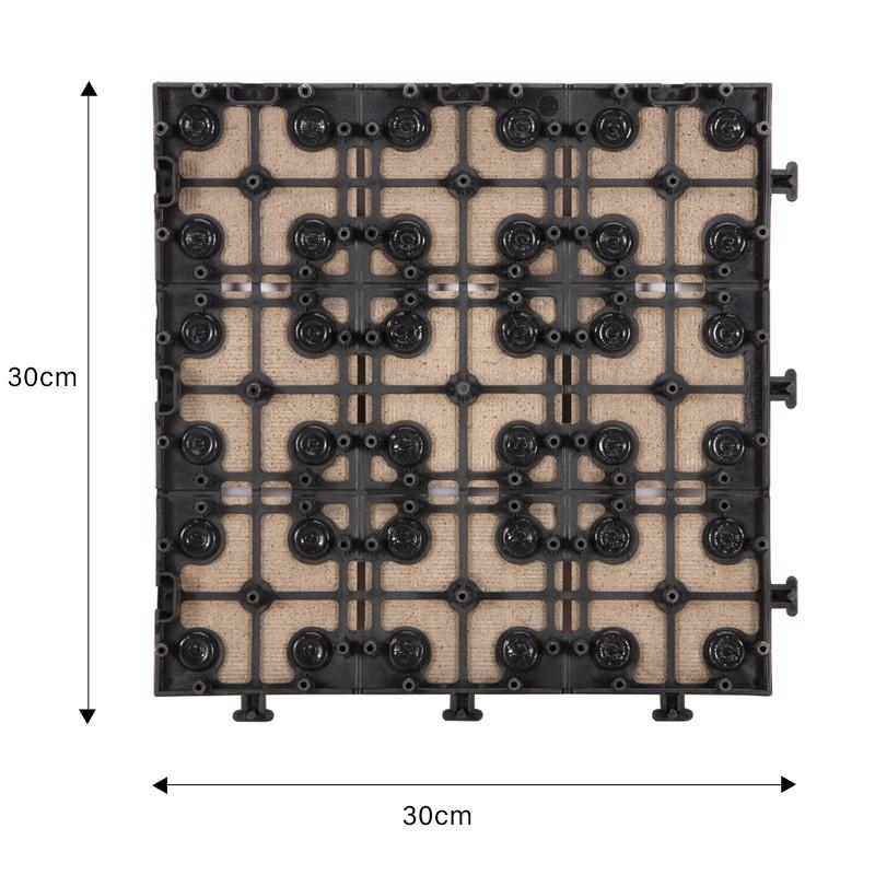 1.0cm ceramic outside flooring deck tile JBH006-2