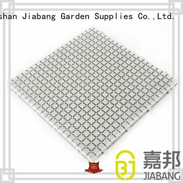 JIABANG protective interlocking plastic patio tiles high-quality for wholesale
