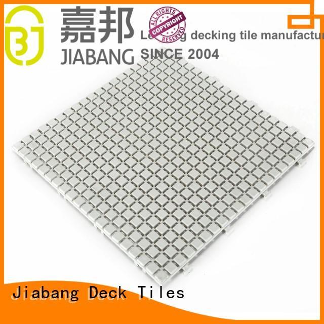plastic floor tiles outdoor cream Bulk Buy anti JIABANG