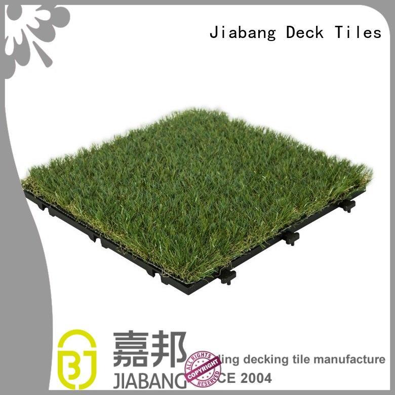JIABANG wholesale fake grass tiles on-sale path building