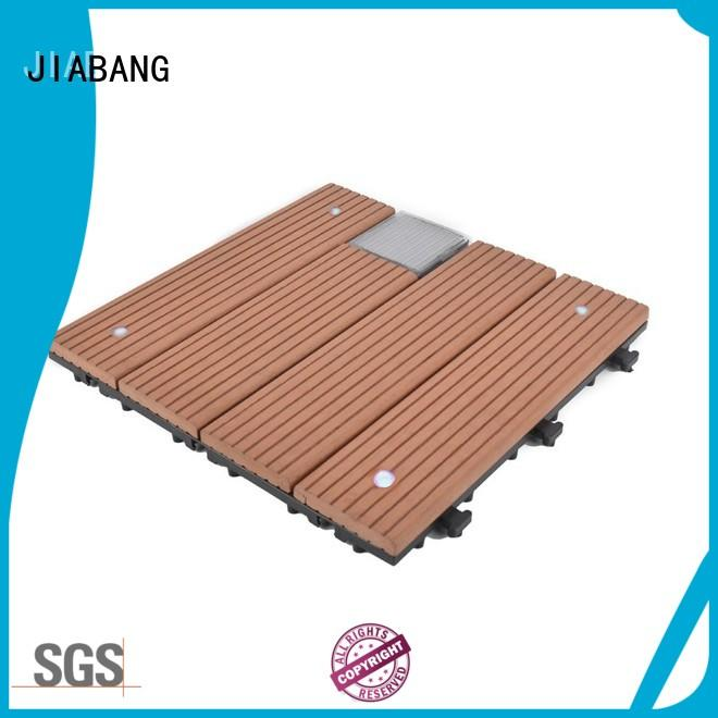 hot-sale snap together deck tiles wpc decorative ground