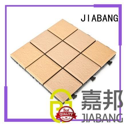 ceramic garden tiles jj01 decking tile JIABANG Brand porcelain patio tiles
