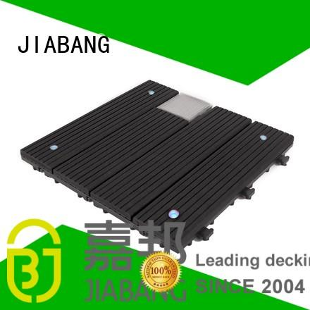 JIABANG Brand solar ground garden balcony deck tiles
