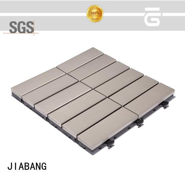 JIABANG pvc plastic patio tiles anti-siding home decoration