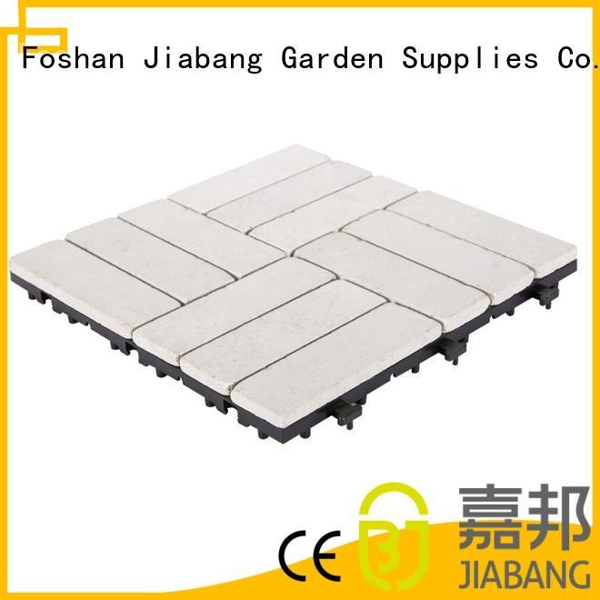 JIABANG Brand grey easy travertine pavers for sale patio