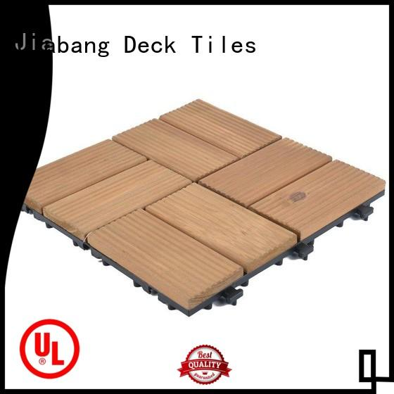 JIABANG diy wood wooden decking squares flooringwood wooden floor