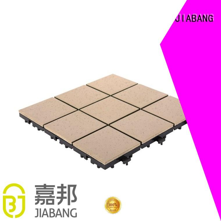 ceramic interlocking tiles office porcelain JIABANG Brand outdoor ceramic tile