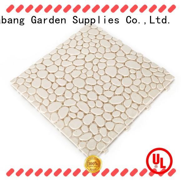 JIABANG plastic mat plastic patio tiles non-slip