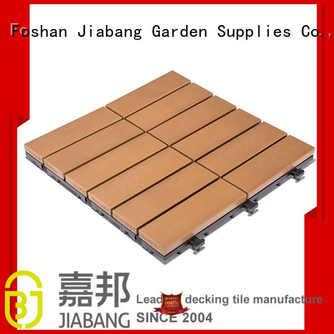 JIABANG light-weight outdoor plastic tiles anti-siding garden path