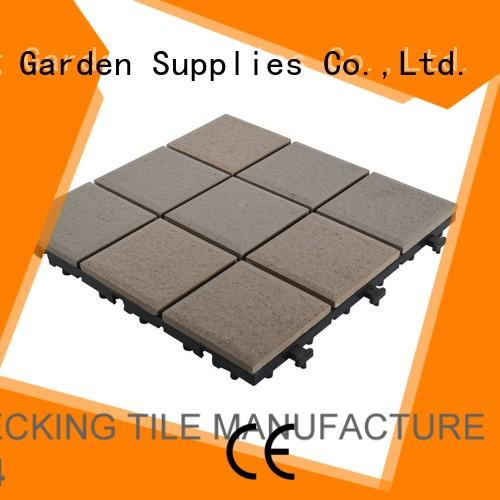 flooring outdoor ceramic deck tiles wholesale gazebo construction JIABANG
