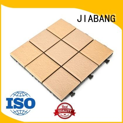 outdoor flooring 1.0cm gazebo deck tile JBH007