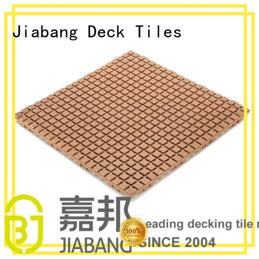decorative plastic wood tiles plastic mat high-quality for customization