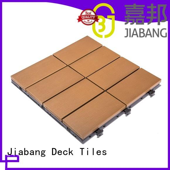 JIABANG durable outdoor plastic tiles high-quality gazebo decoration