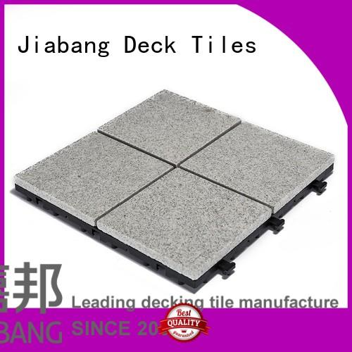 granite deck tiles durable for porch construction JIABANG