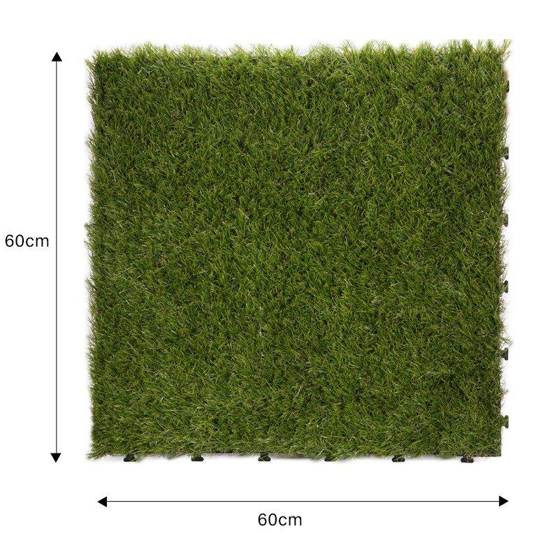Garden path artificial grass deck tiles G001-4-1