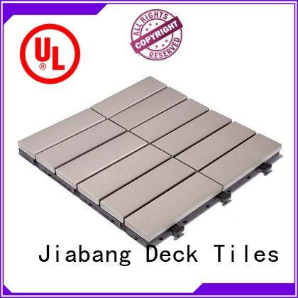 JIABANG high-end plastic decking tiles anti-siding home decoration