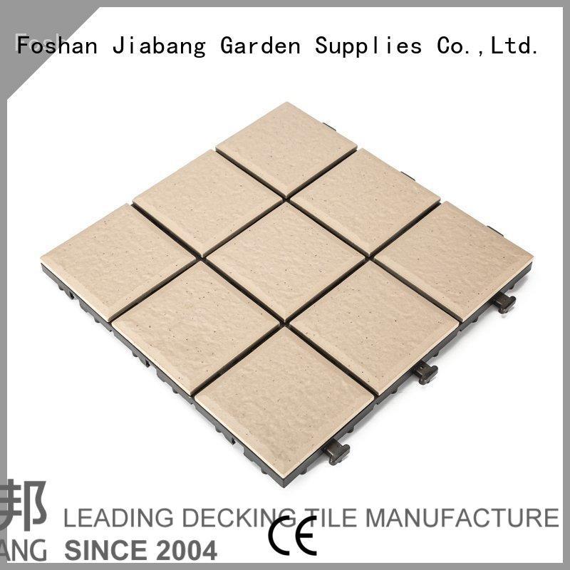 balcony ceramic interlocking tiles interlocking for office JIABANG