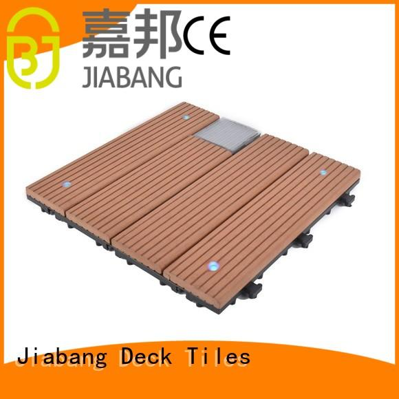 JIABANG eco-friendly interlocking outdoor patio tiles home