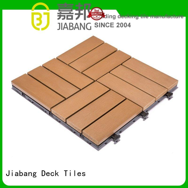 JIABANG high-end plastic decking tiles popular gazebo decoration