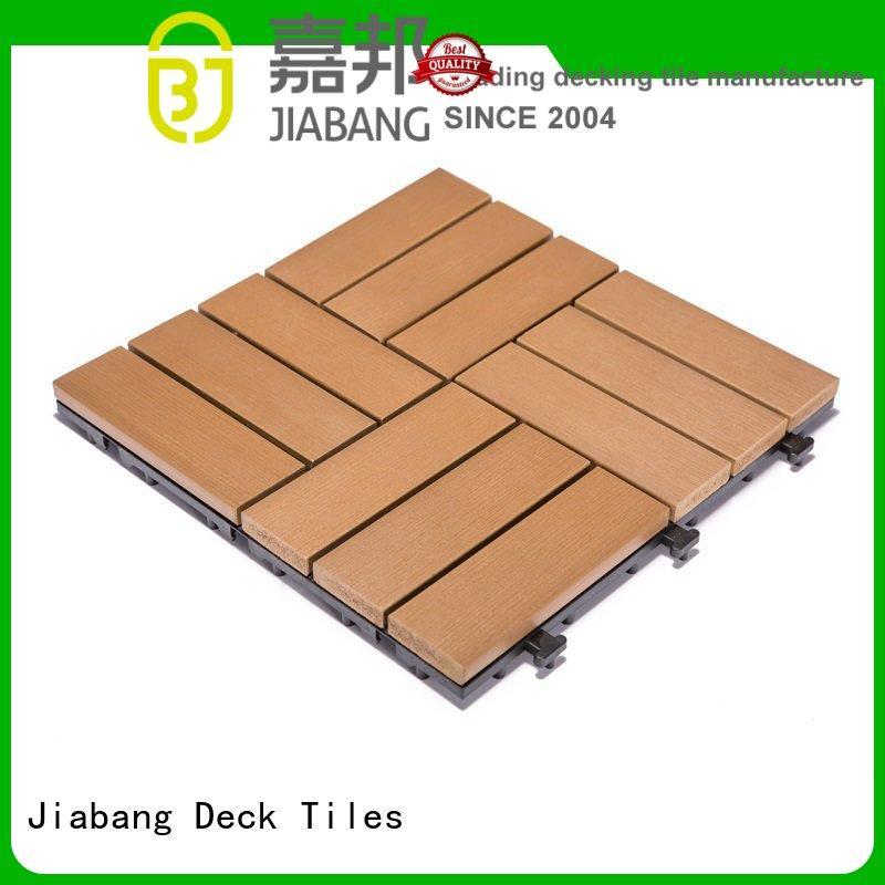 JIABANG high-end plastic decking tiles popular gazebo decoration