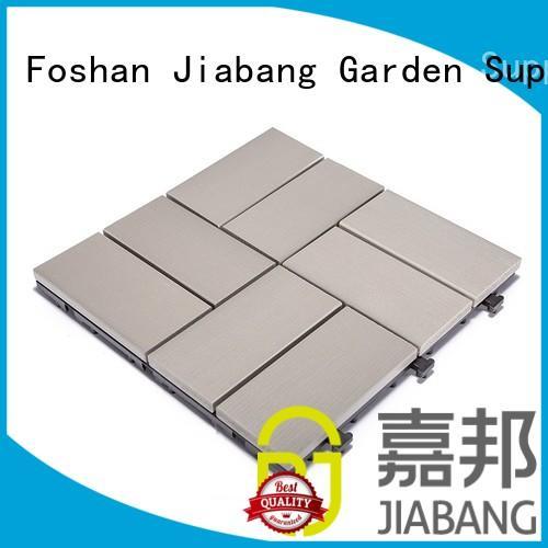 home garden path JIABANG Brand plastic decking tiles