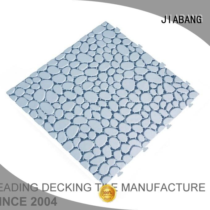 Wholesale plastic sand non slip bathroom tiles JIABANG Brand