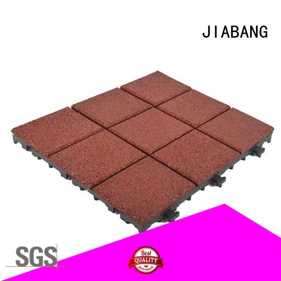 JIABANG composite rubber gym tiles low-cost for wholesale