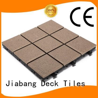 1.0cm ceramic outdoor flooring deck tiles JB5015