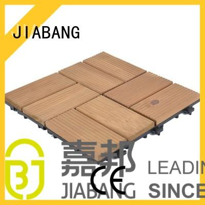 JIABANG interlocking interlocking wood decking long size for balcony